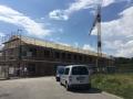 Baufortschritt Dach